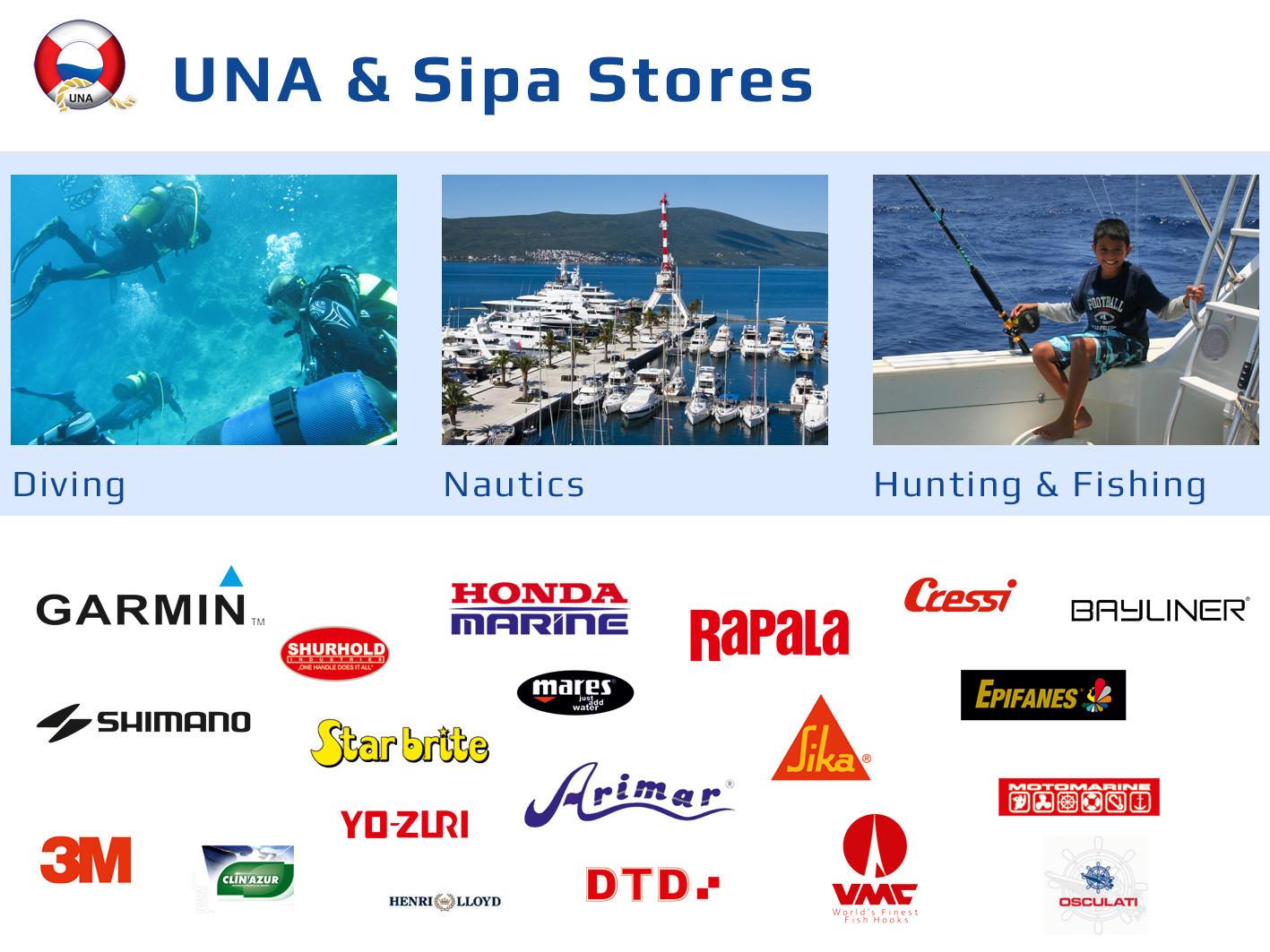 UNA & Sipa Stores